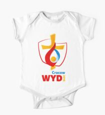 World Youth Day 2016 in Cracow logo One Piece - Short Sleeve
