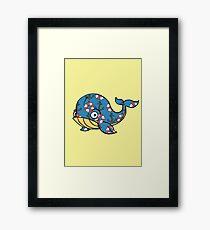Ocean Whale Framed Print