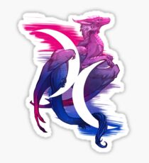Bi Pride Dragon Sticker