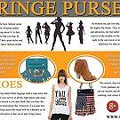fringe purse by fringeheels