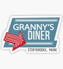 Oma's Diner - Es war einmal Sticker