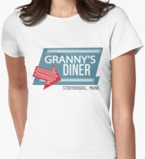 Granny's Diner - Once Upon a Time Womens Fitted T-Shirt