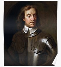 Oliver Cromwell Painting Poster