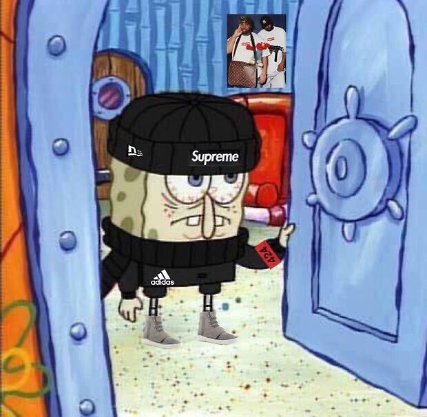 864339353457242437 furthermore Dope Trill Boy Cartoon in addition 11627384 Im Caillou additionally 21324329 Spongebob Supreme Hypebeast moreover Tokyo Ghoul X Rick Owens And Bape 565007517. on cartoon bape hoodie