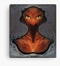 Dungeons and Dragons - Kobold Canvas Print