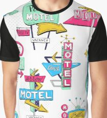 Motel signs Graphic T-Shirt