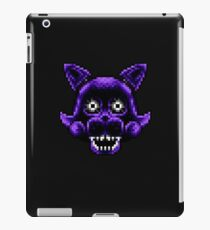 Five Nights at Candy's - Pixel art - Shadow Candy iPad Case/Skin