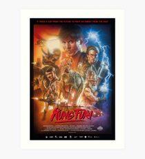 Kung Fury Poster Art Art Print