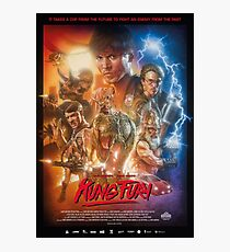 Kung Fury Poster Art Photographic Print