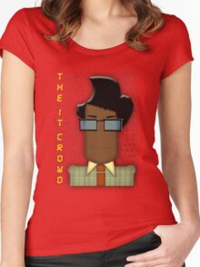 it crowd tee Women's Fitted Scoop T-Shirt