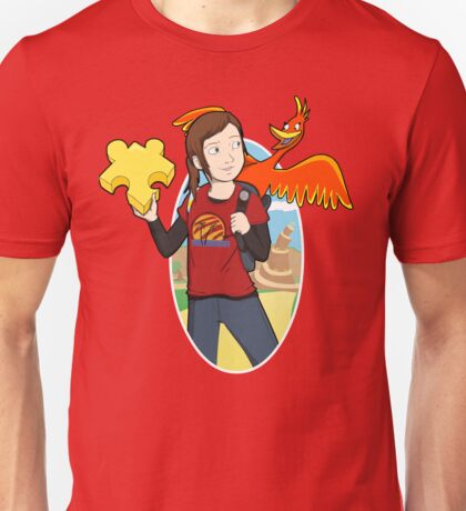 Ellie & Kazooie going on an Adventure. T-Shirt