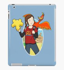 Ellie & Kazooie going on an Adventure. iPad Case/Skin
