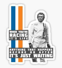 Pegatina Steve McQueen Le Mans