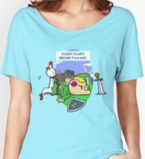 Cluck Cluck Motha' F***er.  Women's Relaxed Fit T-Shirt