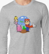 Princess Peach is in da' castle! Long Sleeve T-Shirt