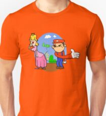 Princess Peach is in da' castle! Unisex T-Shirt