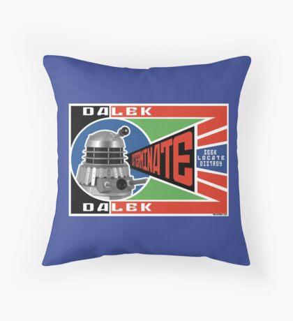 Dalek Deconstructivism Throw Pillow