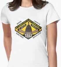 Battleship Dalek 1963 Women's Fitted T-Shirt