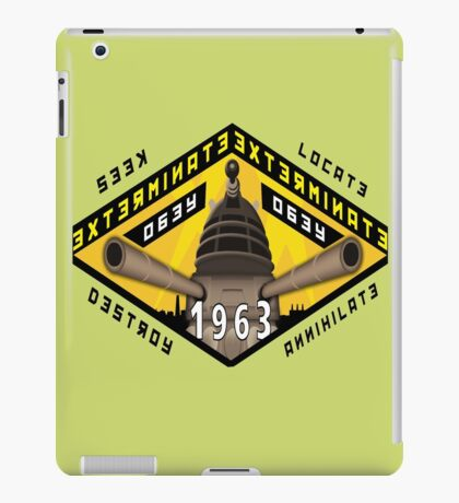 Battleship Dalek 1963 iPad Case/Skin