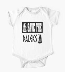 Save the Daleks One Piece - Short Sleeve