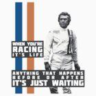 Steve McQueen Le Mans  by formulapod