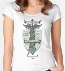 Dark Angels - Never forget, Never forgive Women's Fitted Scoop T-Shirt