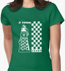 Two Tone Dalek Womens Fitted T-Shirt