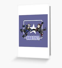 Bro's 4 life - Mass Effect Greeting Card