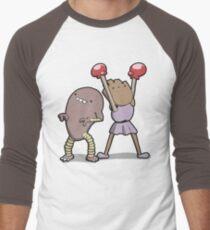 Number 106 and 107 Men's Baseball ¾ T-Shirt