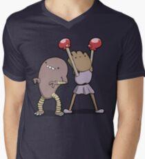 Number 106 and 107 Men's V-Neck T-Shirt