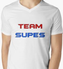 Team Supes Men's V-Neck T-Shirt
