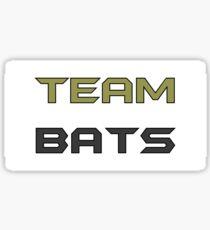 Team Bats Sticker