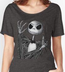 Jack Skellington Women's Relaxed Fit T-Shirt