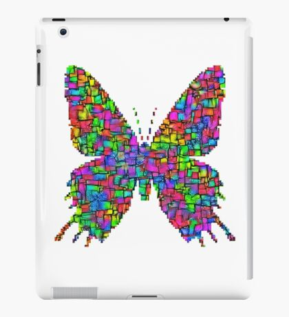 Artificial neural style Simplex pixel Papilio Gloria butterfly iPad Case/Skin