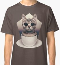 Caffeinimals: Cat Classic T-Shirt