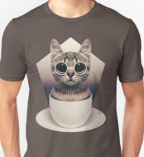 Caffeinimals: Cat Unisex T-Shirt
