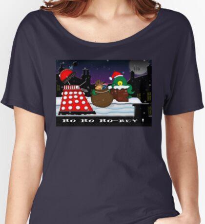 Ho ho ho-bey! Women's Relaxed Fit T-Shirt