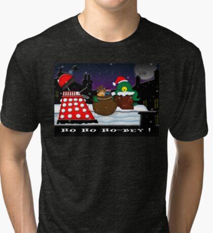 Ho ho ho-bey! Tri-blend T-Shirt