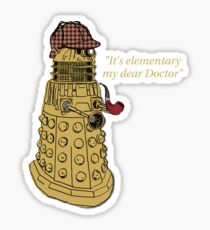 Sherlock Dalek  Sticker