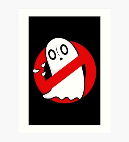 Ghostblookers Art Print