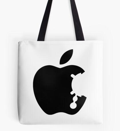 Dalek Apple White  Tote Bag
