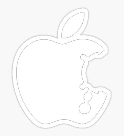 Dalek Apple Sticker