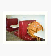 Burger joint Art Print