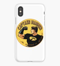 capt hammer iPhone Case/Skin