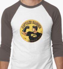 capt hammer Men's Baseball ¾ T-Shirt