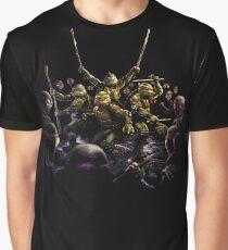 Vs Ninjas Graphic T-Shirt