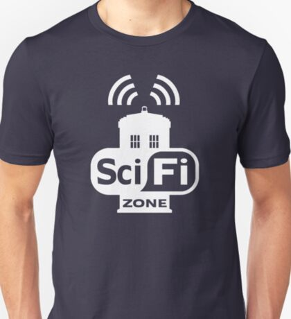 Sci-Fi ZONE White T-Shirt