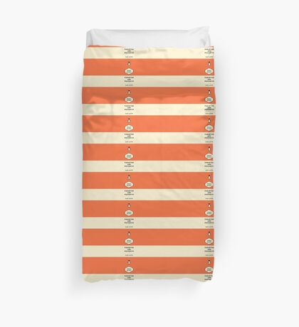 Paradigm and Prejudice Duvet Cover