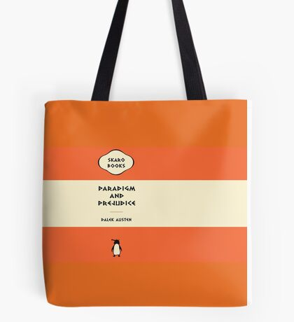 Paradigm and Prejudice Tote Bag