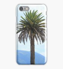 Mountains and Palm Tree iPhone Case/Skin